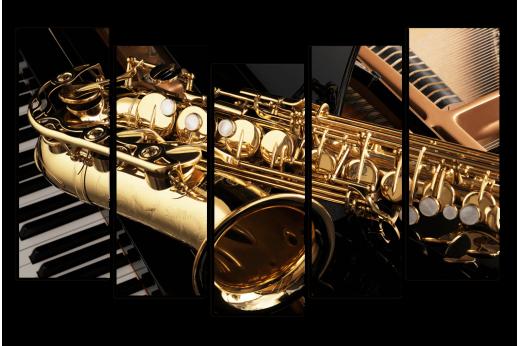 Модульная картина Труба