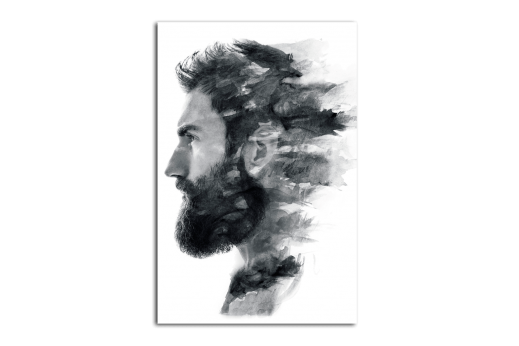 Картина  Мужской профиль